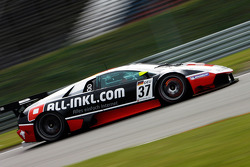#37 All-Inkl.com Münnich Motorsport Lamborghini Murcielago R: Marc Basseng, Thomas Jäger