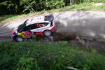 Sébastien Ogier and Julien Ingrassia, Citroën C4 WRC, Citroën Junior Team