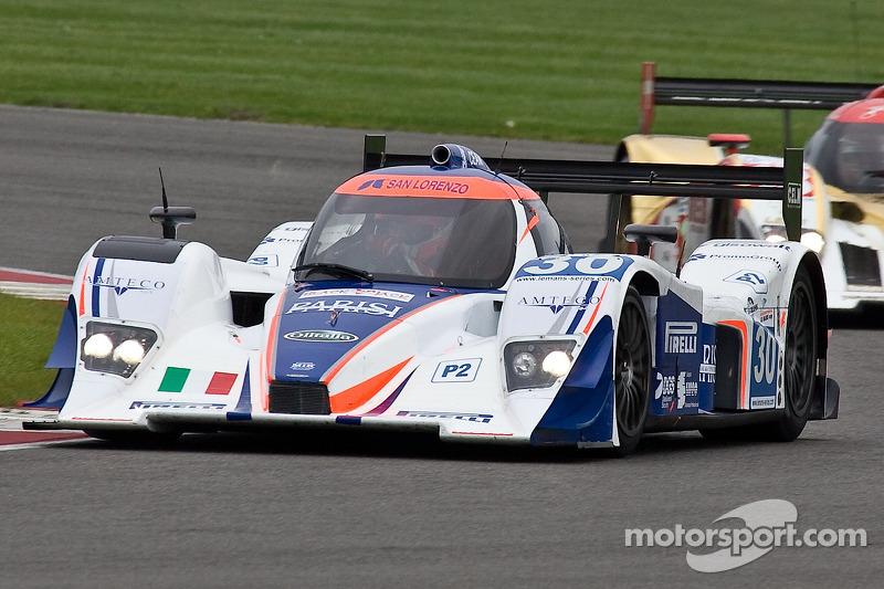 #30 Racing Box Lola B09 Coupé - Judd: Ferdinando Geri, Fabio Babini, Federico Leo