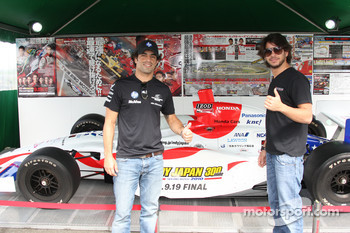 Raphael Matos, de Ferran Luczo Dragon Racing and Mario Moraes, KV Racing Technology