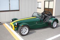 British Racing Green on this Lotus 7 replica