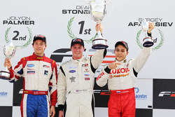 2010 FIA Formula Two Championship standings: champion Dean Stoneman, second place Jolyon Palmer, third place Sergey Afanasiev