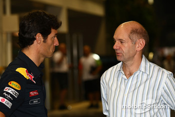 Mark Webber, Red Bull Racing and Adrian Newey, Red Bull Racing, Technical Operations Director