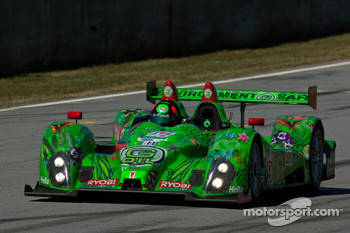 #99 Green Earth Team Gunnar Oreca FLM09: Gunnar Jeannette, Christian Zugel, Elton Julian
