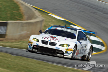 #90 BMW Rahal Letterman Racing Team BMW M3 GT: Dirk Mller, Joey Hand, Andy Priaulx