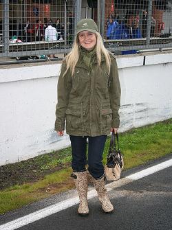 Glamorous wet weather wear