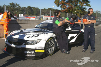 #76 Need for Speed by Schubert Motorsport BMW Z4: Patrick Sderlund, Edward Sandstrm