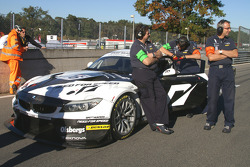 #76 Need for Speed by Schubert Motorsport BMW Z4: Patrick Söderlund, Edward Sandström