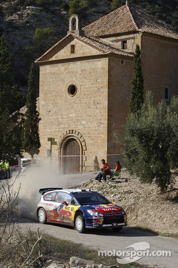Sbastien Loeb and Daniel Elena, Citron C4, Citron Total World Rally Team