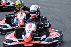GT1 Karting in Navarra: Peter Kox ahead of a very determined Johnny Herbert