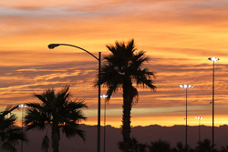 Beautiful Sunset at the Las Vegas Natinals