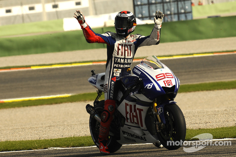 2010: Jorge Lorenzo (Yamaha YZR-M1)