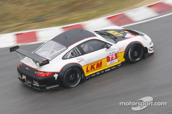 #75 Prospeed Competition Porsche 911 GT3 RSR: Richard Westbrook, Darryl O'Young