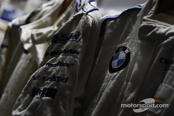 BMW racing suits
