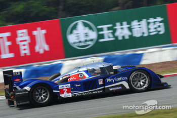 Franck Montagny and Stephane Sarrazin win LMP1 ILMC title for Team Peugeot Total at Zhuhai
