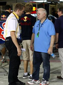 Norbert Vettel, father of Sebastian Vettel, Red Bull Racing