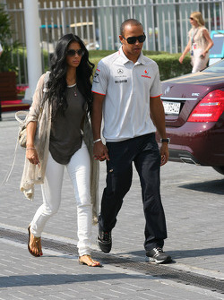 Nicole Scherzinger, Singer in the Pussycat Dolls and girlfriend of Lewis Hamilton