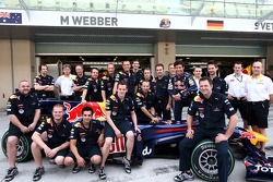 Mark Webber, Red Bull Racing and his team