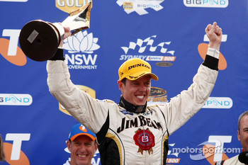 2010 V8 Supercar Champion James Courtney, #18 Jim Beam Racing