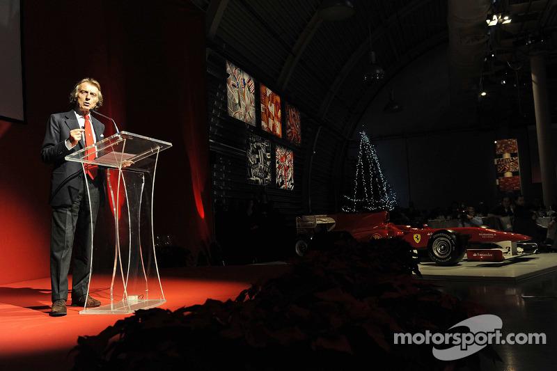 Ferrari's family Christmas: Luca di Montezemolo