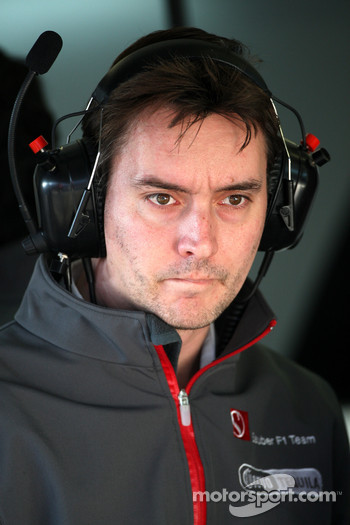 James Key, Technical director, Sauber F1 Team