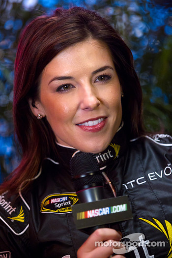 The charming Miss Sprint Cup Monica Palumbo
