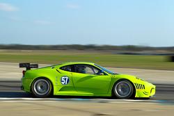 #57 Krohn Racing Ferrari F430 GT: Tracy Krohn, Nic Jonsson