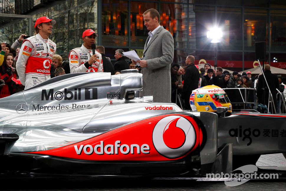 Jenson Button, McLaren Mercedes, Lewis Hamilton, McLaren Mercedes