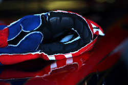 The gloves of Sebastien Buemi, Scuderia Toro Rosso