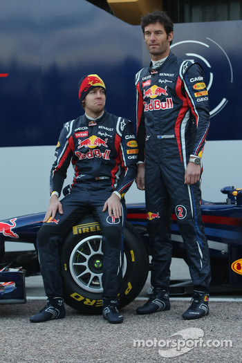 Sebastian Vettel, Red Bull Racing with Mark Webber, Red Bull Racing
