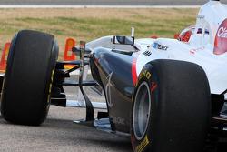 Kamui Kobayashi, Sauber F1 Team, C30, details