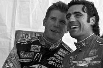 Jamie McMurray and Dario Franchitti