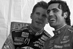 Jamie McMurray and Dario Franchitti