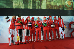 Valentino Rossi, Nicky Hayden, Fernando Alonso, Felipe Massa, Giancarlo Fisichella, Jules Bianchi, Marc Gene, Roberta Vallorosi