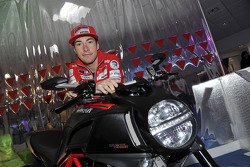 Nicky Hayden, Ducati with the Ducati Diavel Carbon