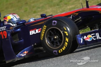 Alguersuari takes seventh place on the grid