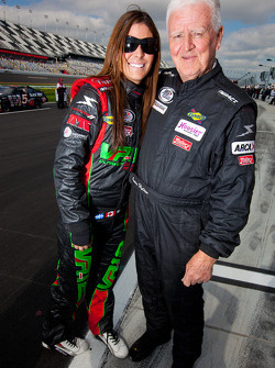 Maryeve Dufault and James Hylton