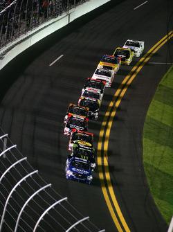 James Buescher, Turner Motorsport Chevrolet leads