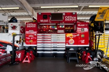 Garage area for Jamie McMurray, Earnhardt Ganassi Racing Chevrolet