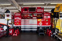 Garage area for Jamie McMurray, Earnhardt Ganassi Racing Chevrolet