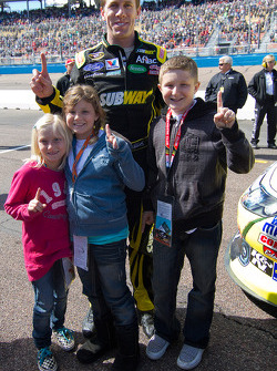 Carl Edwards, Roush Fenway Racing Ford and friends
