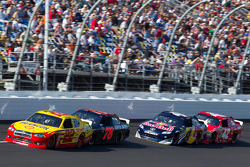 Kurt Busch, Penske Racing Dodge, Regan Smith, Furniture Row Racing Chevrolet, Kasey Kahne, Red Bull Racing Team Toyota, Juan Pablo Montoya, Earnhardt Ganassi Racing Chevrolet