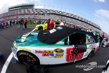 Pole winning car of Dale Earnhardt Jr., Hendrick Motorsports Chevrolet
