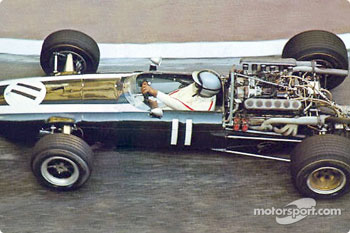 Pedro Rodrguez in a Cooper-Maserati