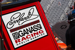 Earnhardt Ganassi Racing Chevrolet garage ambiance