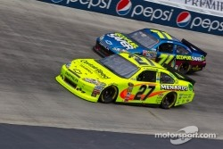 Paul Menard, Richard Childress Racing Chevrolet and Andy Lally, TRG Motorsports Chevrolet