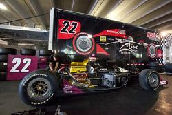 Dreyer & Reinbold Racing car of Justin Wilson