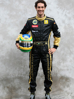 Bruno Senna, test driver, Lotus Renault GP