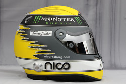 Helmet of Nico Rosberg, Mercedes GP