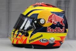 Helmet of Jaime Alguersuari, Scuderia Toro Rosso